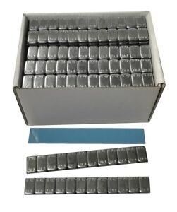 100 Stück Kleberiegel 12x5g | Klebegewichte 6kg | Wuchtgewichte Felgen, verzinkt
