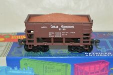 HO scale Roundhouse Great Northern Ry 22' ore hopper car train KD's w/ LOAD