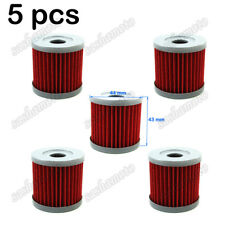 5x Oil Filter For ATV SUZUKI DRZ 400 400E 400S 400SM LTZ400 LTR450 Dirt Bike