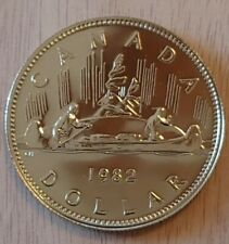 1982 1 Dollar Canadian Proof Like