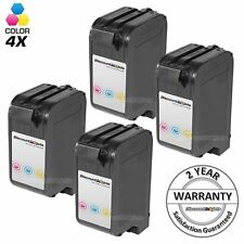 4Pk 78 C6578DN COLOR Printer Ink Cartridge for HP Officejet G85xi K60 K60xi