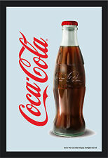 Coca Cola Bottle Nostalgie Barspiegel Spiegel Bar Mirror 22 x 32 cm