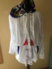 Vintage Westbound Sport Full Zip Shiny Plaid Windbreaker Jacket Sz XL 80s 90s
