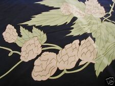 Silk Scarf Hops Beer Germany Navy Advertising Ladies Fromme Mayer Bass Hopstabil