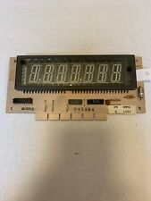 Gottlieb Pinball 7 Digit Display Glass Tube For SYSTEM 80A, Tested & Working