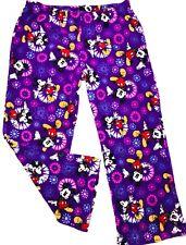 New listing Disney Pants Mickey Mouse Lounge Women's Xl Fleece Sleepwear Pajamas Purple
