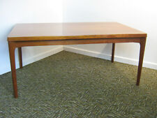 Retro Danish Teak Dining Table by Vejle Stole, extending to seat 10 Northants