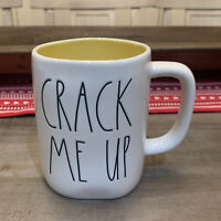 Rae Dunn By Magenta - LL CRACK ME UP - Yellow Ceramic Coffee Mug - Easter 🐣