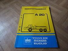 Vorläufiges (Ausgabe 1) Werkstatthandbuch Volvo BM A 20 Muldenkipper