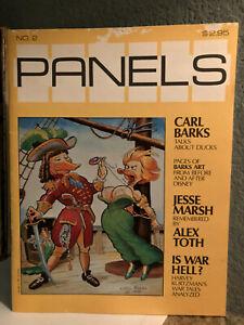 PANELS No.2 Magazine/Graphic Novel (1981) - Carl Barks - EX Condition