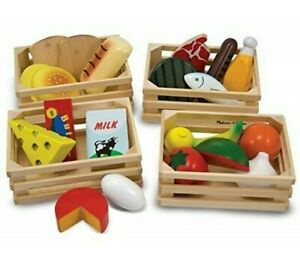 Melissa And & Doug Food Groups Set Wooden Educational Toys
