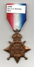 WWI MEDAL 1914 STAR ROYAL FIELD ARTILLERY