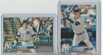 2018 Topps Clint Frazier RC Rookie Card Lot (2) Complete Set, + Series 1 Yankees