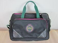 Vtg Prince Club Collection tennis messenger tote gym duffel bag black purple