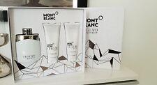 Mont Blanc Legend Spirit 100 ml EDT + 100 ML AFTER SHAVE BALM+ 100 ml Shower Gel