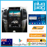 "Android 16"" GPS Bluetooth Car Player Navi Radio Stereo DVD Toyota Landcruiser"