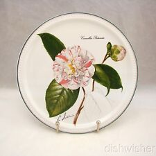 """Villeroy & Boch 1982 NEW YEAR Collector Plate """"Camellia picturata"""" 9 1/8"""" EXC"""