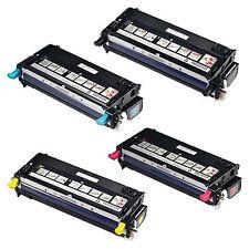 4x Toner Cartridge Set for Dell 3110cn 3115cn 3110 3115 593-10170 HIGH CAPACITY