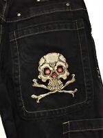 JNCO Jeans - VINTAGE SKULL & CROSSBONES 34x30