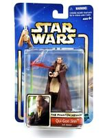 Hasbro 2002 Star Wars The Phantom Menace Qui-Gon Jinn Jedi Master