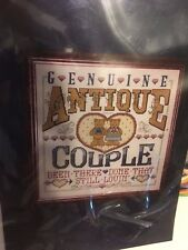 DESIGN WORKS  GENUINE ANTIQUE COUPLE COUNTED CROSS STITCH #9038