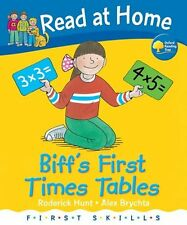 READ AT HOME _ BIFF'S FIRST TIMES TABLES HB __ BRAND NEW __ FREEPOST UK