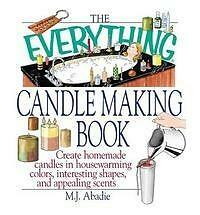 The Everything Candlemaking Book by M. J. Abadie (Paperback, 2002)