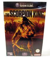 NINTENDO GAMECUBE GAME  THE SCORPION KING  RISE OF THE AKKADIAN