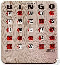 FINGER-TIP BINGO SHUTTER CARDS (100 COUNT)