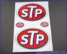 Classic STP Sponsor Racing Rally Moto Bike Car Decals 4x4 Kit Stickers Emblems