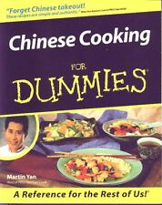 Chinese Cooking for Dummies MARTIN YAN, Egg Drop, Chicken, Beef, BRAND NEW BOOK