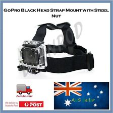 GoPro Head Strap Mount (Black) for Hero 4, Session, 3+, 3, 2 , HD Action Go Pro