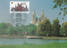 *Maximumkarte*2000 Jahre Speyer*1990*mit Briefmarke Bund Mi.-Nr. 1444*