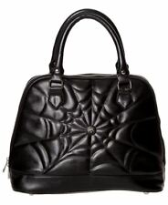 Gothic Spider Web Handbag | PURSE BLACK HALLOWEEN PUNK EMO