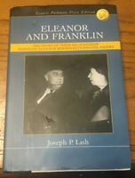ELEANOR AND FRANKLIN by Joseph p. Lash First Edition HC/DJ Pulitzer Prize winner