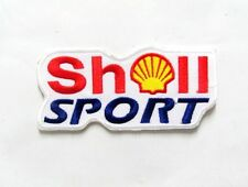 Shell Sport Patch Iron On Jacket Or T-shirt Racing Sport 2.0x4.4 In.