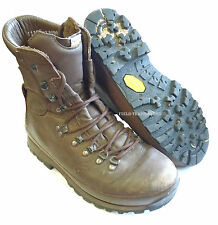 BRITISH ARMY - ALTBERG BROWN DEFENDER COMBAT BOOTS - SIZE 8 WIDE - SN2889