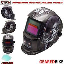 Auto Darkening Welding Grinding Helmet With Solar Panel IV UV Protection ROBOT