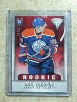 13-14 Panini Titanium Rookie RC Red Ruby #121 NAIL YAKUPOV /99