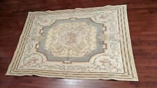 5' x 7' Unique Aubusson Tapestry Rug made in Belgium or France by Metrax Craye