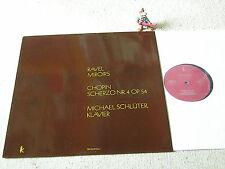 RAVEL Miroirs CHOPIN Scherzo Nr. 4 op. 54 MICHAEL SCHLÜTER Piano 1974 GER LP WK