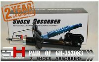 2 NEW FRONT SHOCK ABSORBERS FOR MITSUBISHI LANCER VIII 03.2007->/GH-353083P/