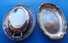 Covered Serving Dish Academy 102 Silver on Copper Silverplate