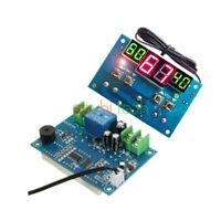 Digital Red + Green LED Thermostat Temperature Sensor Controller DC 12V -9 -99°C