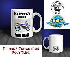 Honda VFR400R Motorbike Personalised Ceramic Mug Gift (MB005)