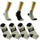 SPORT 3 6 9 12 Pairs/1DzAnkle/Quarter Crew Mens Socks Cotton low cut Size 9-11