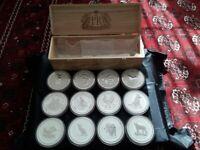 Perth Mint Lunar Series I Kilo Coin 12 PC Set. Once in a Lifetime Acquisition !!
