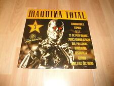 MAQUINA TOTAL 3 TERMINATOR 2 VINILO VINYL DEL AÑO 1992 X 2 LP'S EN BUEN ESTADO