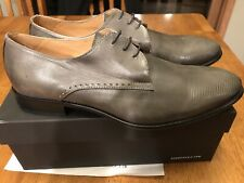 Kenneth Cole New York Men's Tell All Oxford Shoes | Grey Size 12