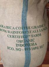 5 lbs Green Coffee Beans Sumatra Mandheling Grade 1 Triple Picked Cert. Organic